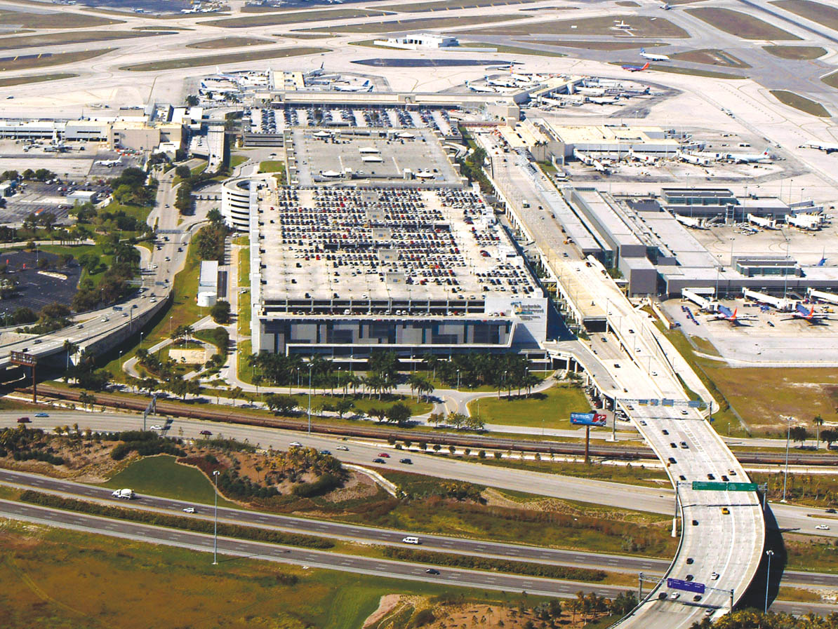 International use up 18% at Fort Lauderdale airport