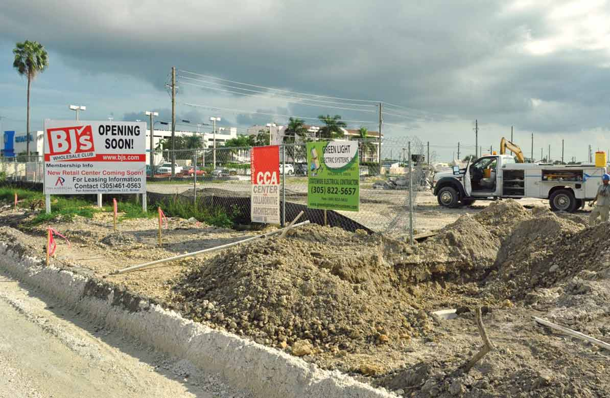 BJ's Wholesale takes environmentally damaged site