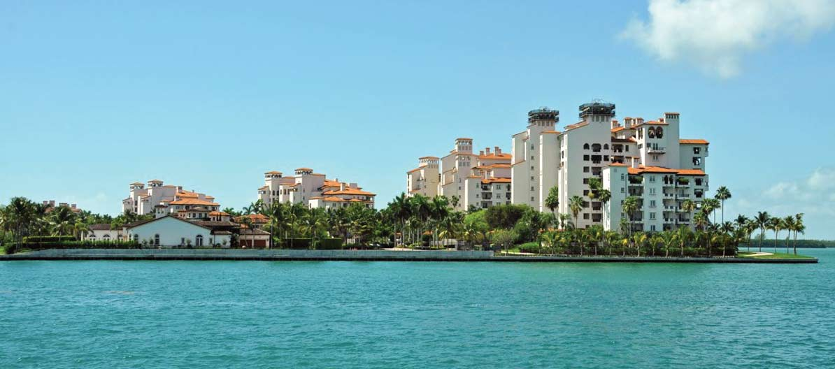 On global scale, Miami luxury home prices puny