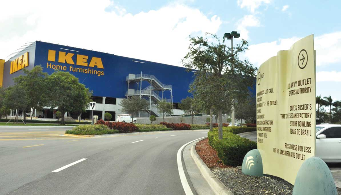 IKEA sets up shop near Dolphin Mall