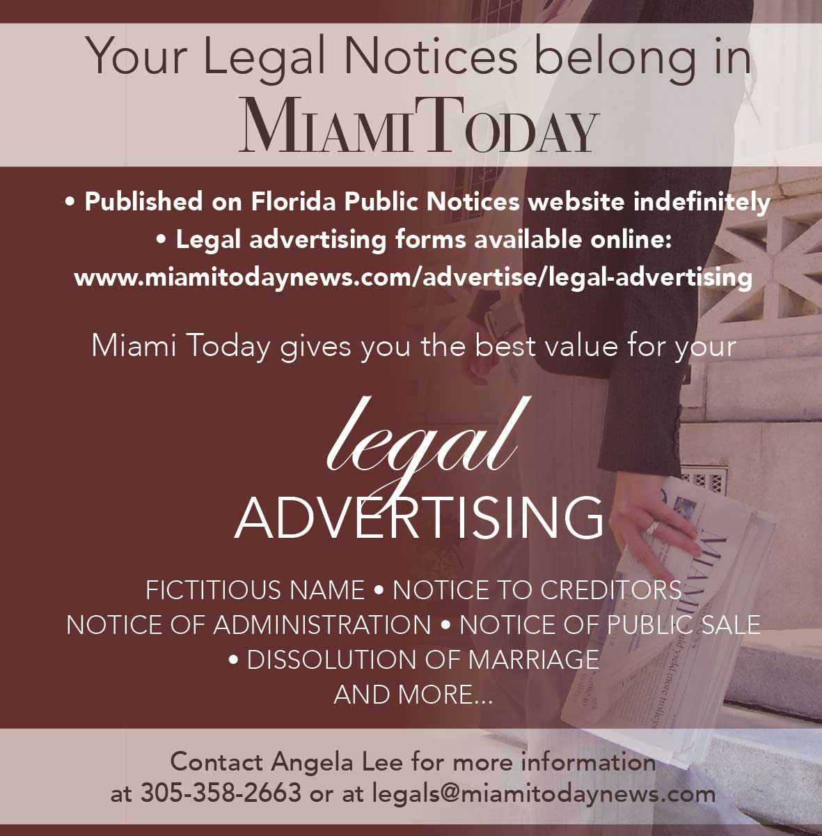Legal Advertising